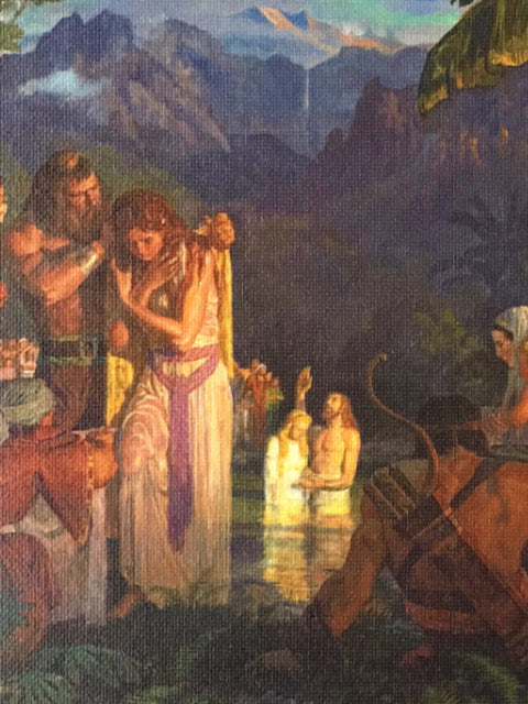 Arnold Friberg<br/>Baptism in Ancient America