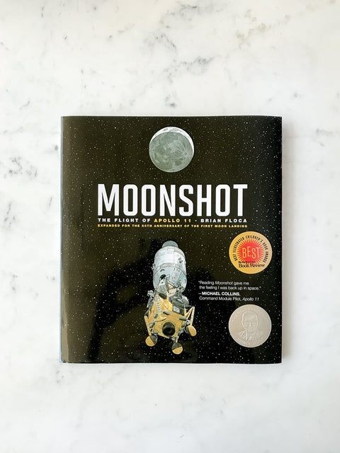 Moonshot<br/>by Brian Floca