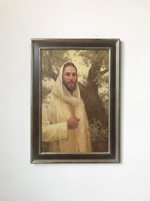 Christ and the Olive Tree<br/>Original Painting<br/>by J. Ken Spencer