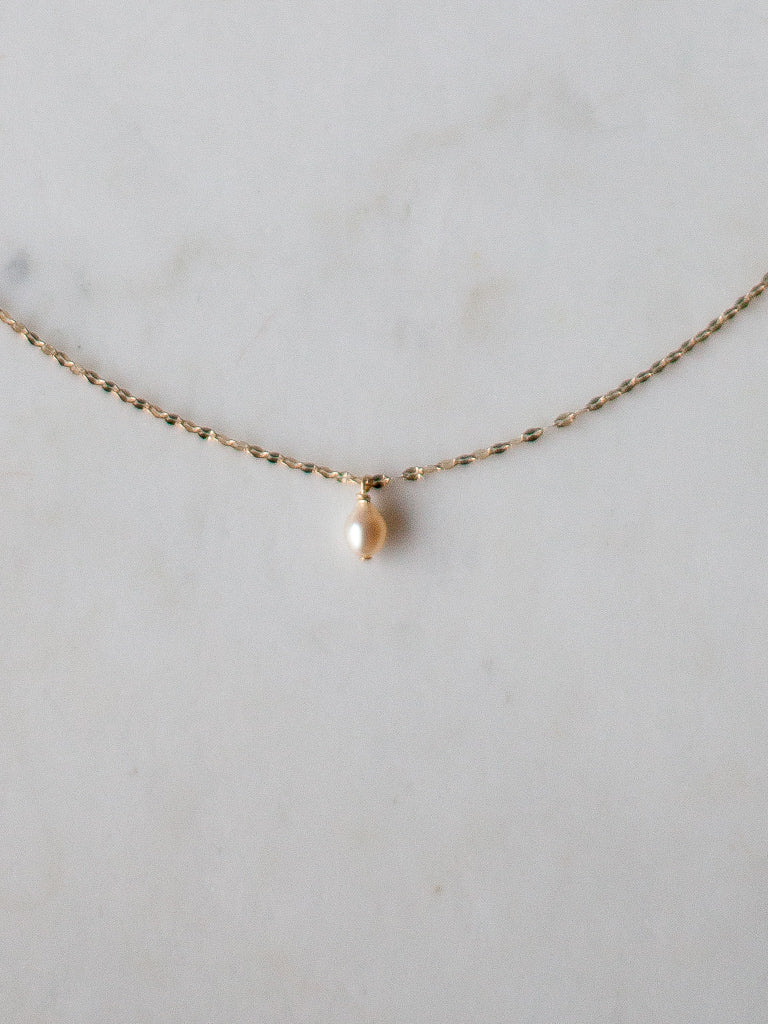 Brigitte Necklace 14K Gold