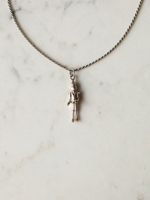 Pinocchio Necklace Silver
