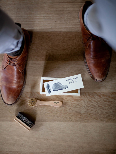 Miniature Shoe Care Kit