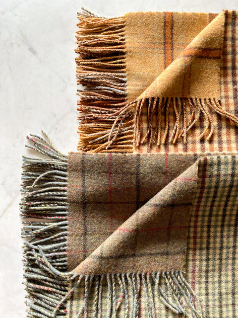 Scottish Wool Throws