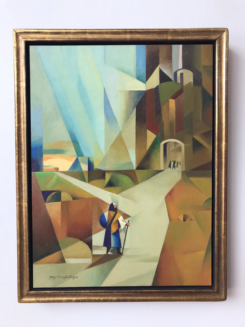 Jorge Cocco<br/>Original Painting<br/>The Two Ways (Painting)