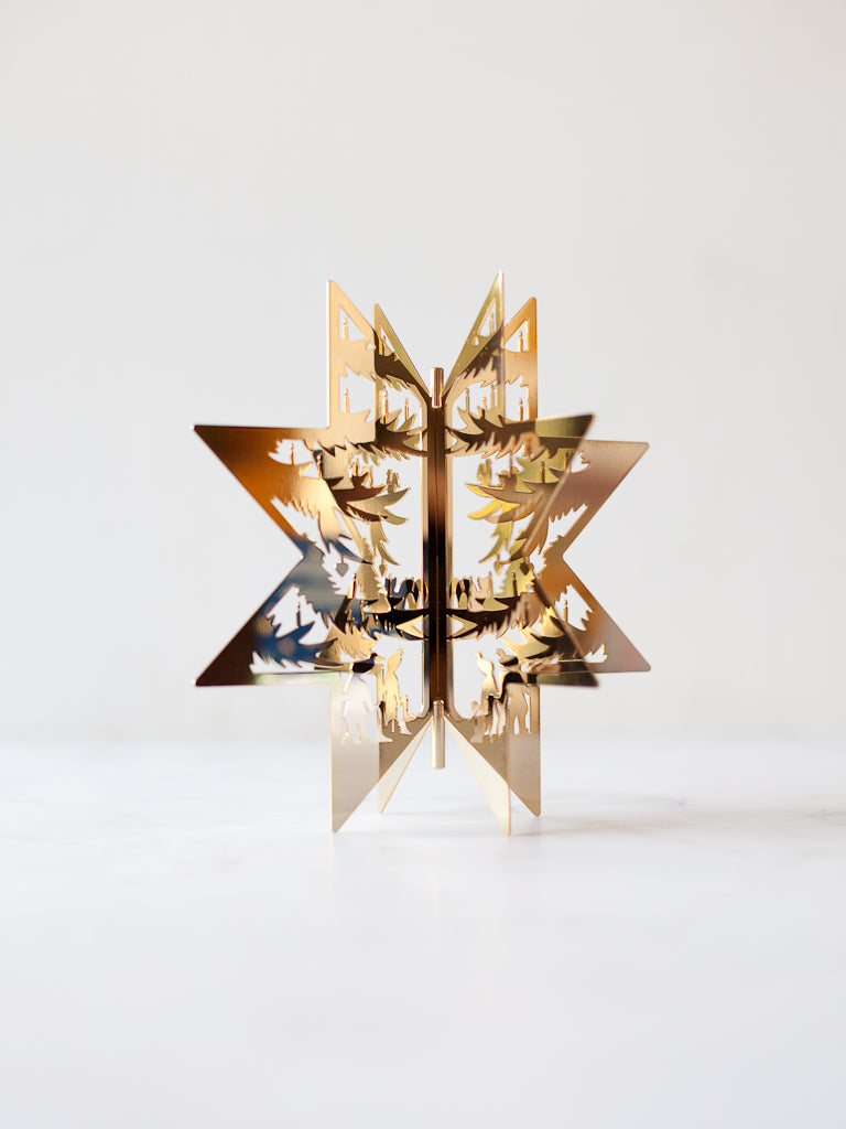 Gold-Plated Star Tree Topper