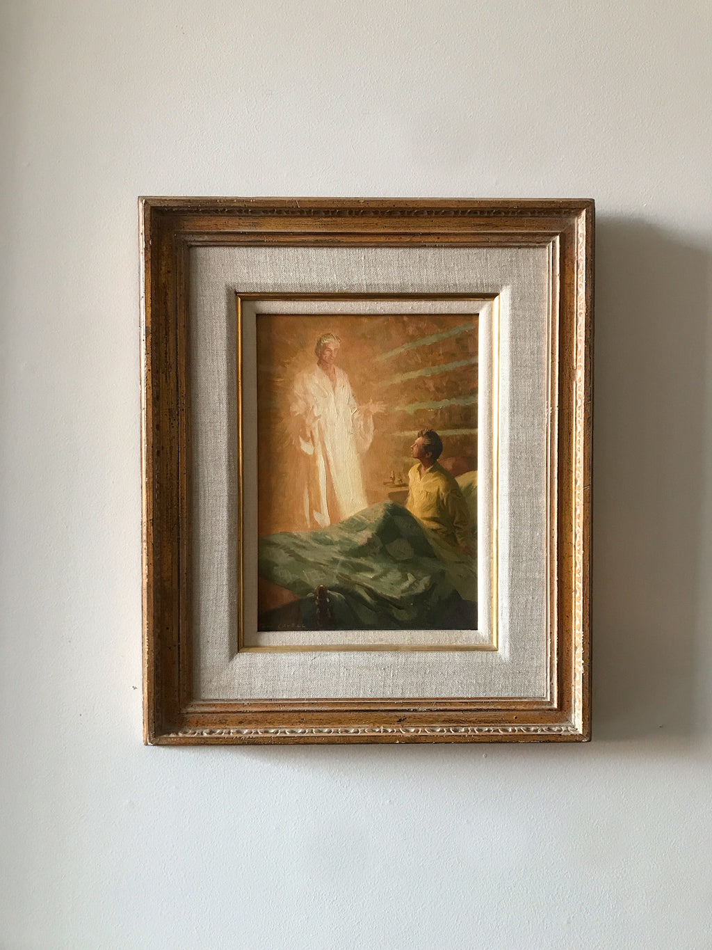 Tom Lovell<br/>Study of Moroni Appearing