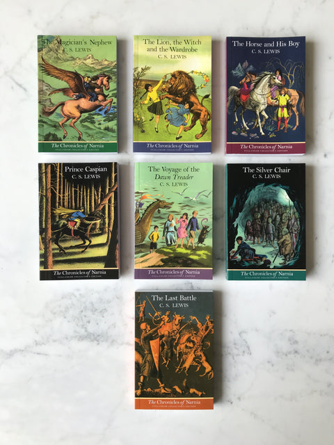 Chronicles of Narnia Boxed Set<br/>by C.S. Lewis