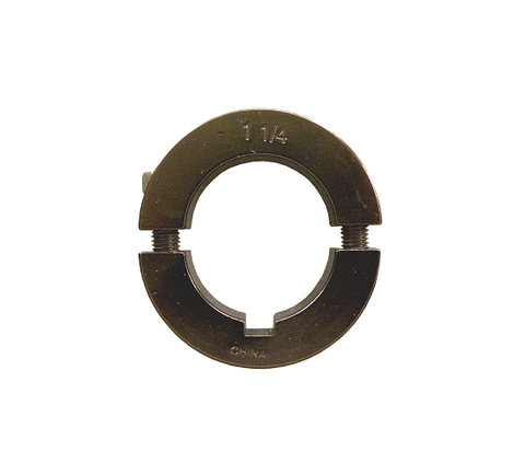 "1 1/4"" Aluminum Axle Lock Collar (Black)"