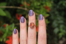 Size 4.5; Mexican Fire Opal Ring No.III