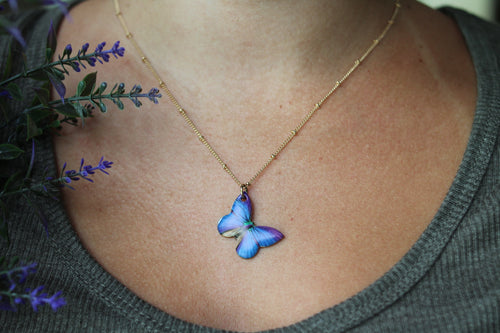 Ulysses Butterfly Necklace