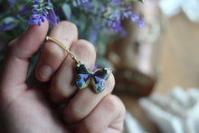 Peacock Butterfly Necklace