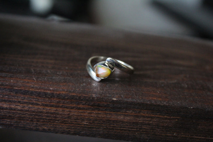 Size 7.5; Ethiopian Opal Ring