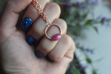 Dainty Ruby Necklace