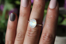 Size 5.5; Faceted Moonstone Ring