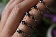 Size 7; Amethyst Stacker Ring