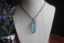 Statement Aqua Aura Necklace