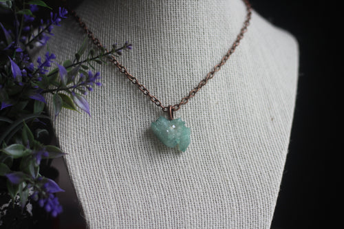 Teal Aura Necklace