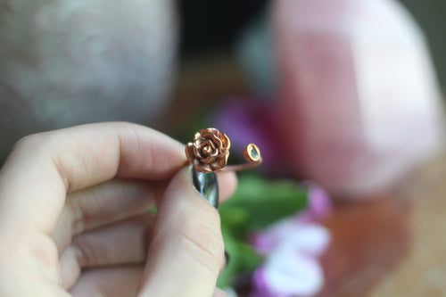 Size 8; Flower Power Ring No.II