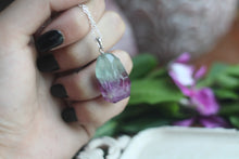 Sterling Silver Fluorite Necklace No.VII