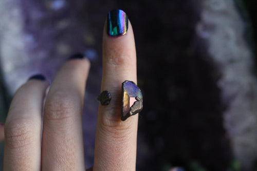 Size 6-7; Angel Aura Shell Ring