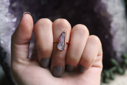 Size 7.5 ; Angel Aura Ring