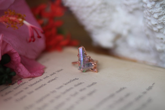 Size 7; Angel Aura Cluster Ring