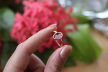 Size 7; Watermelon Tourmaline Ring
