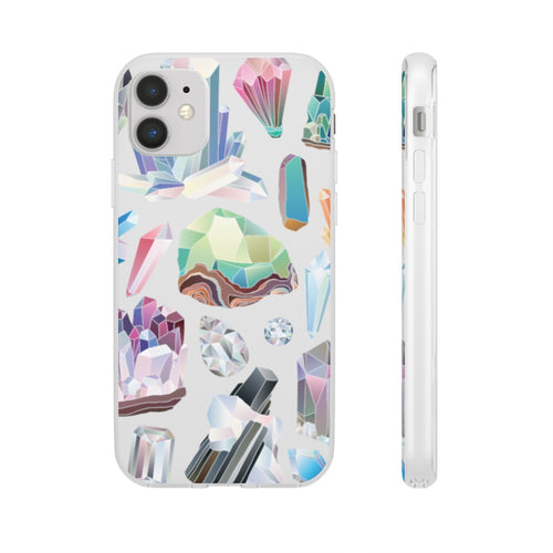 Watercolor Gemstone Phone Case