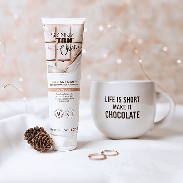 Skinny Tan Choc Pre-Tan Primer - Cookie Dough 125ml