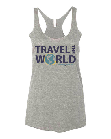 Travel The World Tank Top