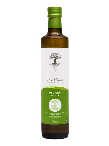 100% ORGANIC Mis Raices Extra Virgin Olive Oil