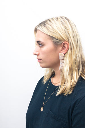 amy george moondrop earring 1 - basic.