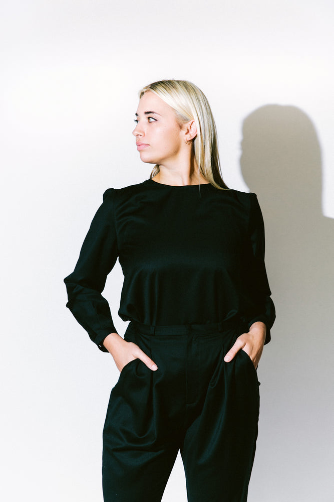 Load image into Gallery viewer, le claudine blouse - basic.