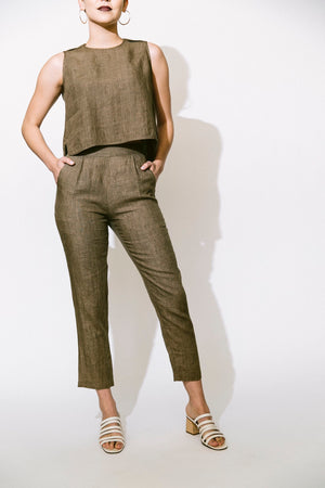 Load image into Gallery viewer, signature taper trouser - basic.