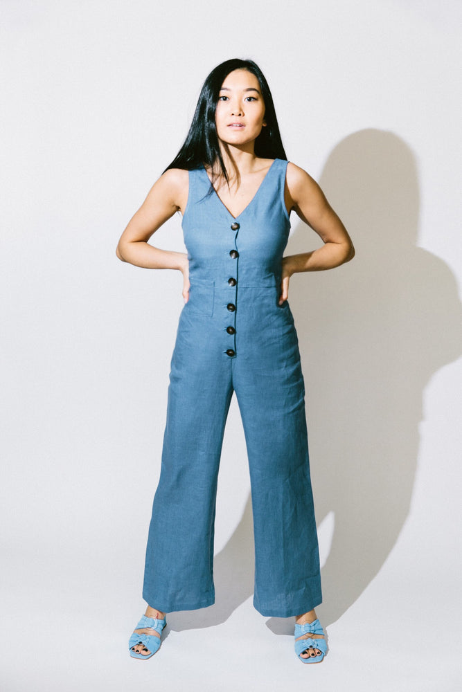 Load image into Gallery viewer, alana jumpsuit - basic.