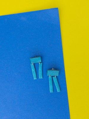 robot earring - basic.