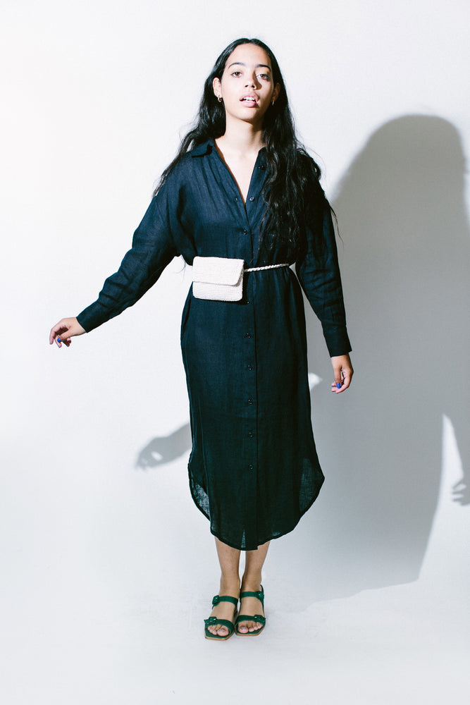 dolman shirtdress - basic.
