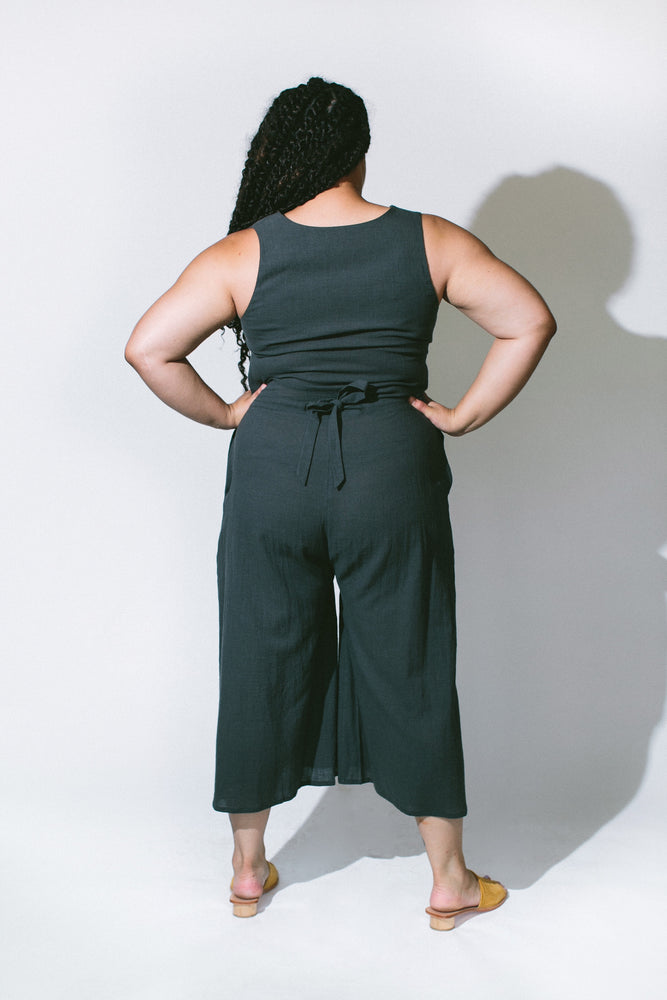 wide-legged jumpsuit - basic.