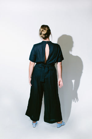 mandarin jumpsuit - basic.