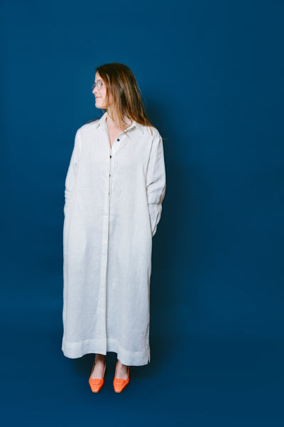 lydia shirt dress - basic.