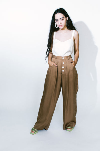 be the woman trouser - basic.