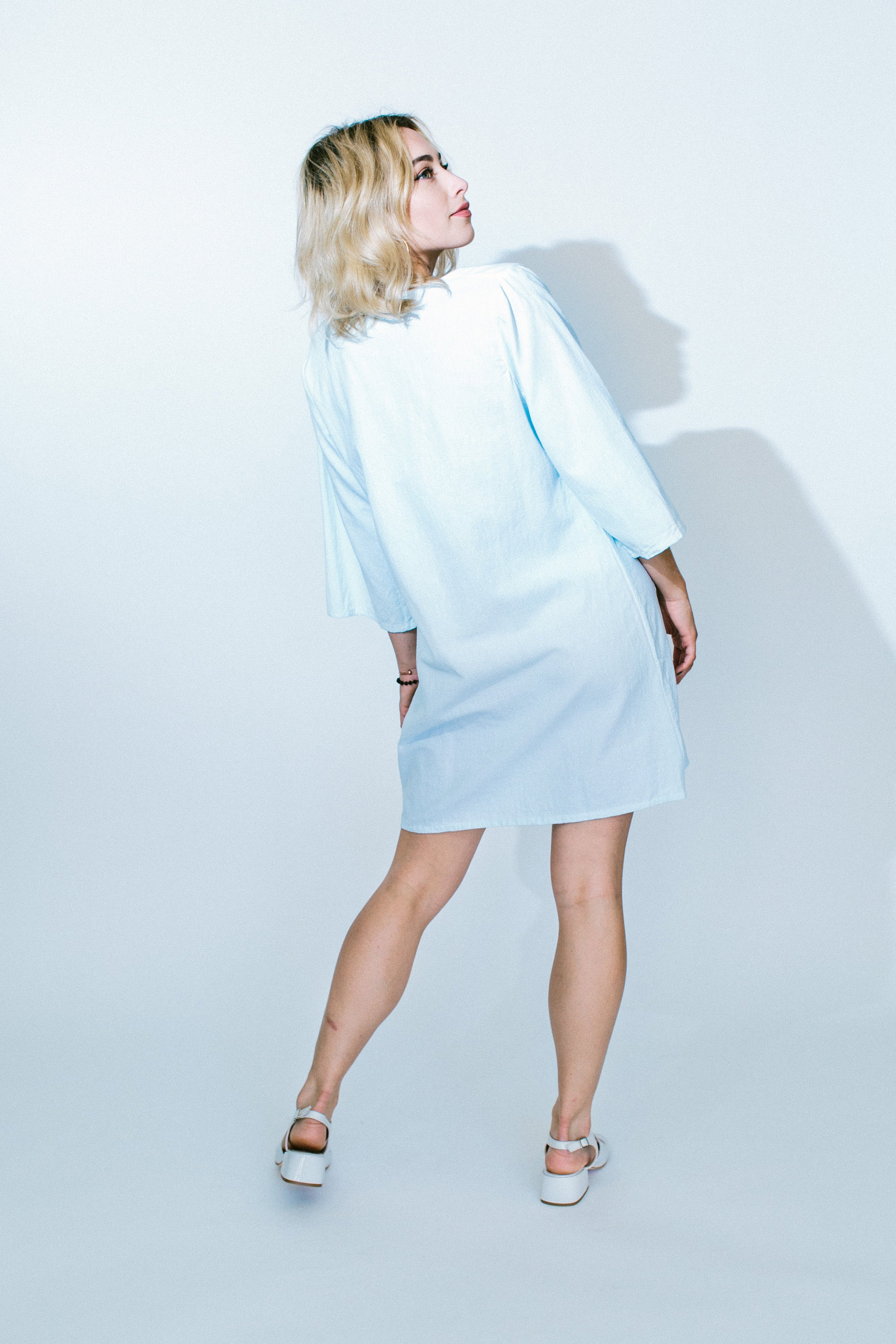 pale blue rio dress