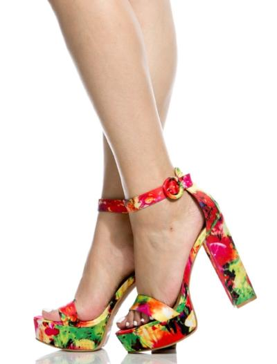 Check out our embellished Jewel heels - Chestnut Rose