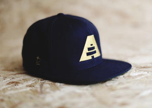 Snapback - Navy - Athlete Denim