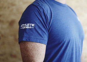 Athlete Denim Muscle Tee - Athlete Denim