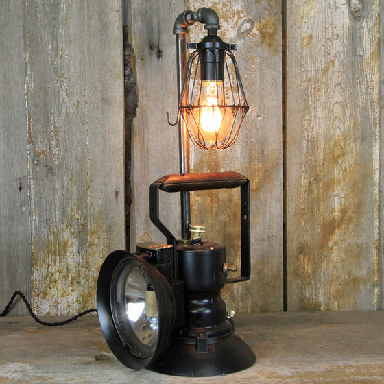 Railroad Inspectors Lantern Table Lamp No. 1918 - The Lighting Works