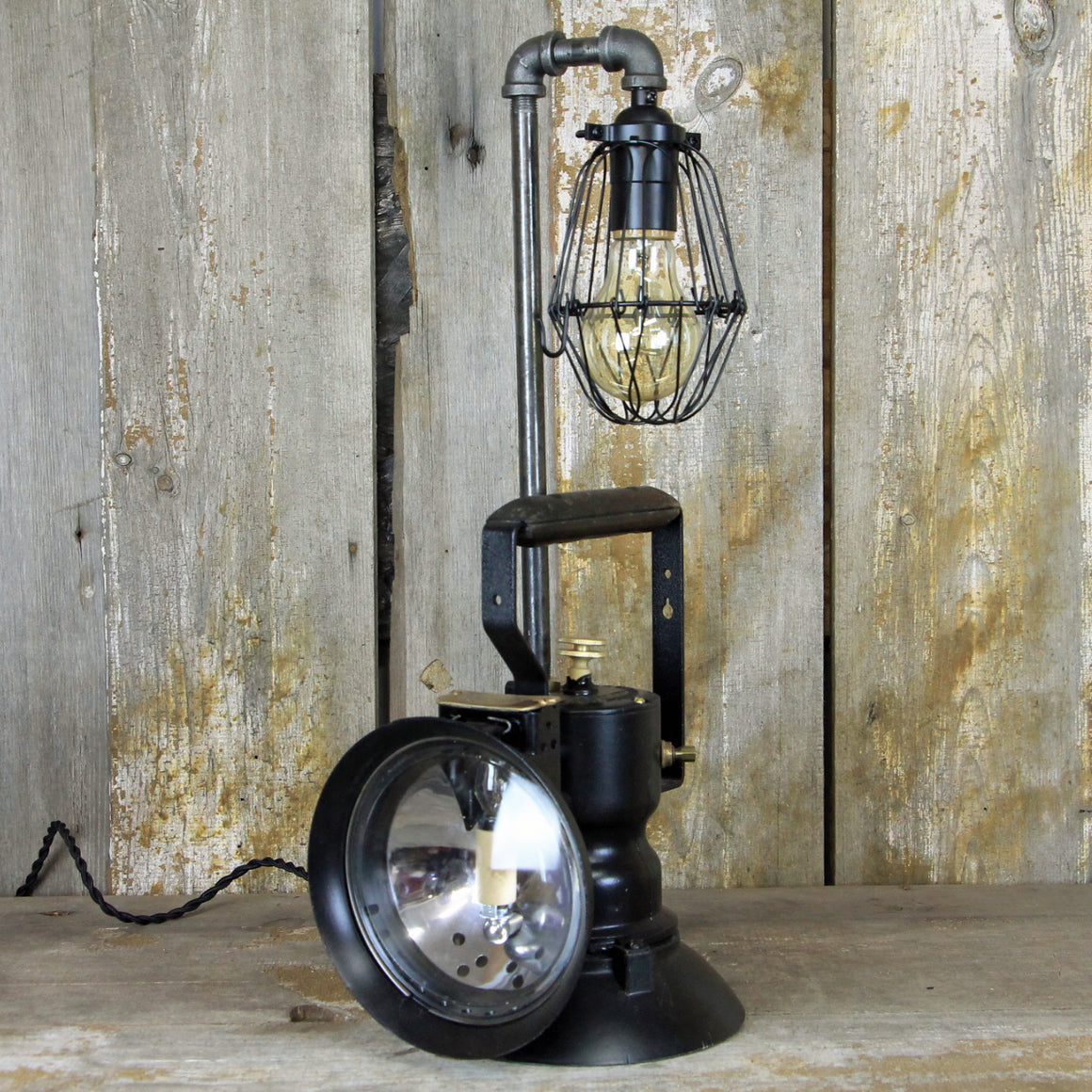 Railroad Lantern, Inspectors Lantern Light, Vintage Railroad Lantern, Antique Railroad Lantern #1918 - The Lighting Works