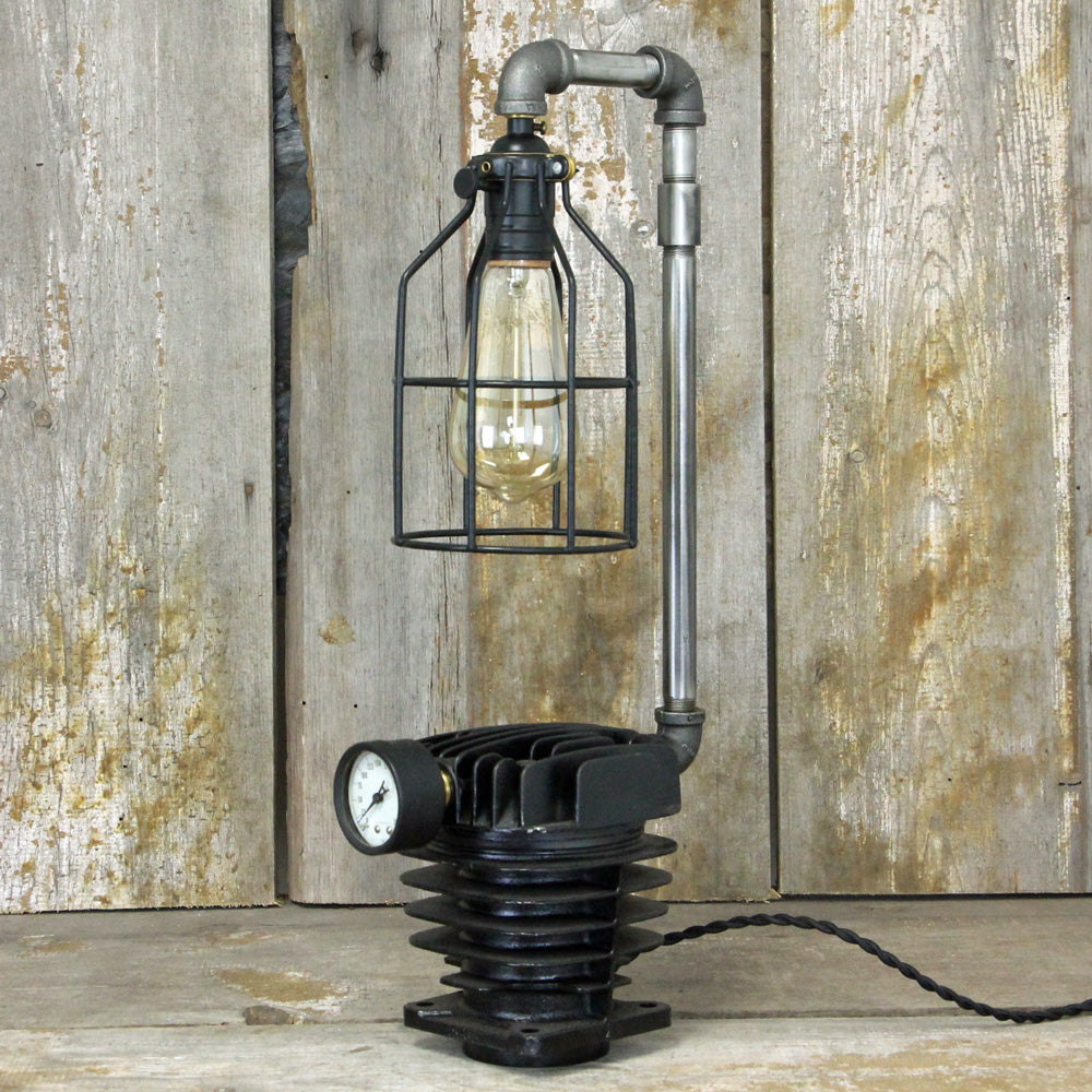 Industrial Steampunk Desk Table Lamp No. 1934 - The Lighting Works