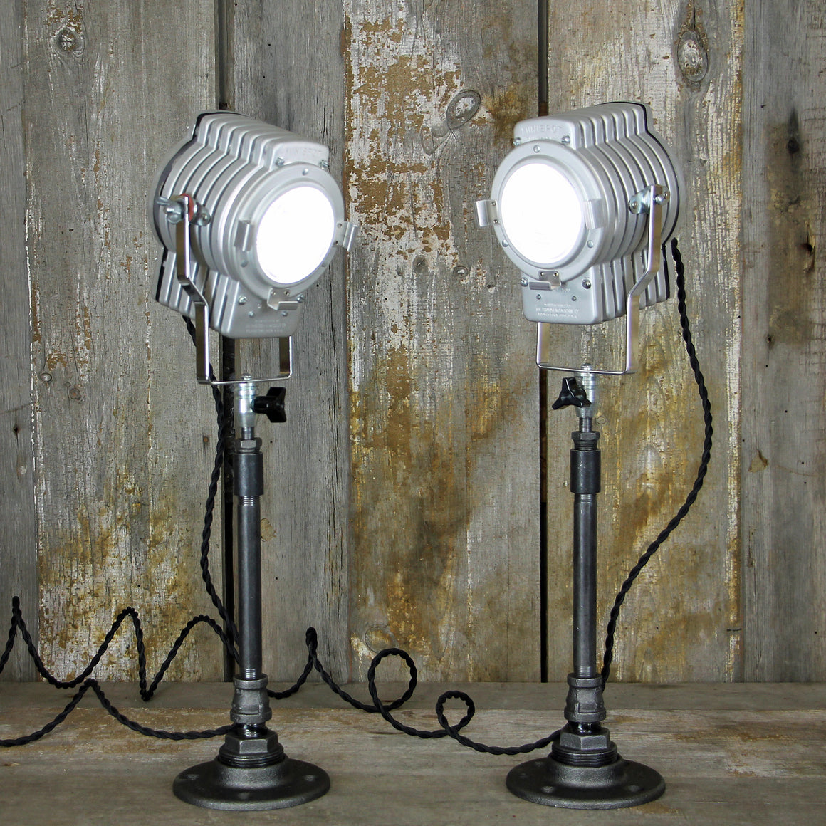 Industrial Table Lamps - Photo Spot Light - No. 2018 - The Lighting Works