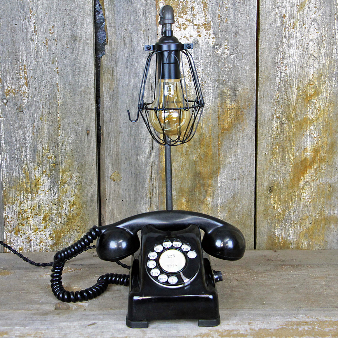 Vintage Art Deco Telephone Lamp #295 - The Lighting Works